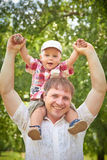 Happy family together Royalty Free Stock Image