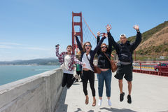 Happy Family Traveling Together Stock Photography