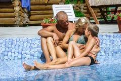 Happy family on vacation Royalty Free Stock Photo