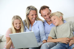 Happy famiy time Royalty Free Stock Photography