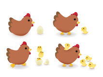 Happy Farm. Vector File EPS10 Royalty Free Stock Photos