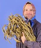 Happy farmer Royalty Free Stock Photo