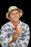 Happy Farmer Stock Images