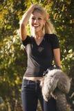 Happy fashion girl Stock Photos