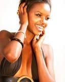 Happy Fashion Woman Royalty Free Stock Image