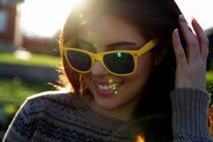 Happy fashionable woman Stock Image