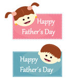 Happy father´s day Stock Photos