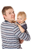 Happy Father Royalty Free Stock Image
