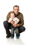 Happy Father Royalty Free Stock Images