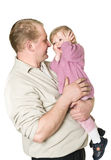 Happy father and child Royalty Free Stock Photography