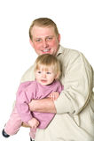 Happy father and child Stock Images