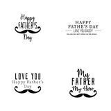 Happy father Day Royalty Free Stock Images