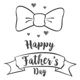 Happy father day background design. Vector illustration Royalty Free Stock Photography
