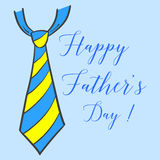 Happy father day hand draw illustration. Collection Royalty Free Stock Photo
