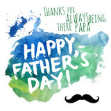 Happy Father Stock Photo