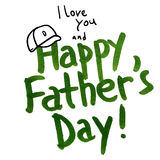 Happy Father Stock Image