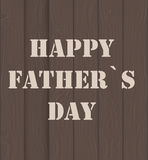 Happy Father Day Poster Card Vector Illustration Royalty Free Stock Photo