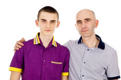 Happy father and his son Royalty Free Stock Photo