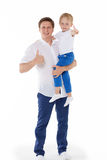 Happy father with little son. Stock Photography