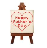 Happy Father's day. Message Stock Image