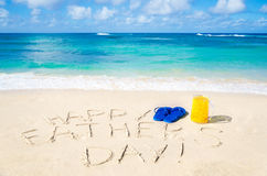Happy father's day background Stock Images