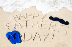 Happy Father's Day Background Stock Photo