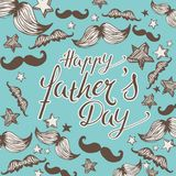 Happy Father`s Day background vector illustration