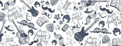 Happy Father`s Day background royalty free illustration