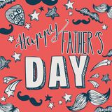 Happy Father`s Day background stock illustration