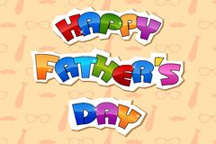 Happy Father's Day Background Royalty Free Stock Photos