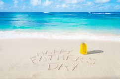 Happy father's day background Royalty Free Stock Image