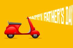 Happy Father's Day Background Stock Photos