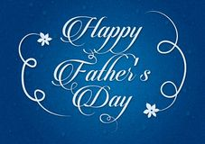 Happy father`s day background wallpaper. For use as a digital card royalty free illustration
