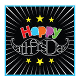 Happy father`s day Royalty Free Stock Images
