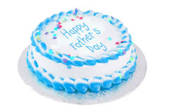 Happy father's day cake Royalty Free Stock Images