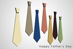 Happy Father's Day card Royalty Free Stock Photography