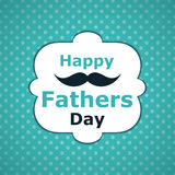 Happy Father`s Day Card Royalty Free Stock Photography