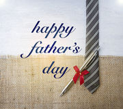 Happy Father`s day card concept. Vintage style card Royalty Free Stock Photos