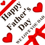 Happy Father's Day card Royalty Free Stock Photos
