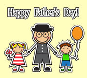 Happy Father's Day! Royalty Free Stock Photography