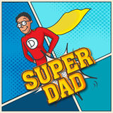 Happy Fathers Day celebration concept. Stock Photo