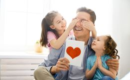 Happy father`s day stock photo