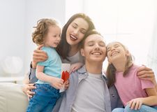Happy father`s day stock photography