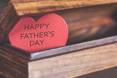 Happy father`s day concept. Happy father`s day vintage card Stock Photography