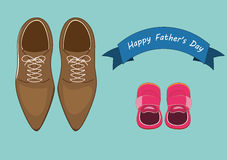 Happy father's day concepts Royalty Free Stock Photos