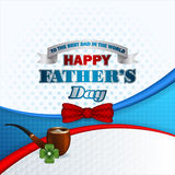 Happy Father's day design background Royalty Free Stock Photos