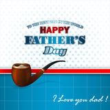 Happy Father's day design background Stock Photography