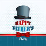 Happy Father's day design background Royalty Free Stock Image