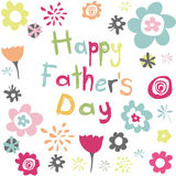 Happy Fathers Day Stock Image