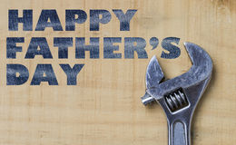 Happy Father's day design. Idea background stock photography